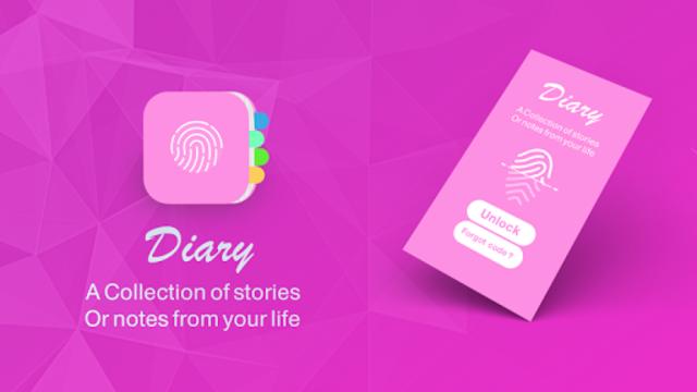 diary with a fingerprint lock screenshot 1