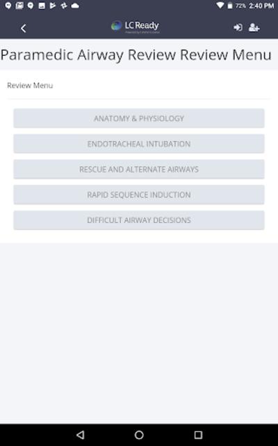 Paramedic Airway Review screenshot 8