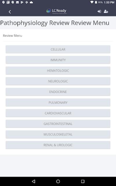Pathophysiology Review screenshot 3