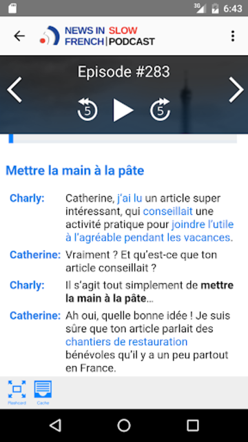 News in Slow French screenshot 3