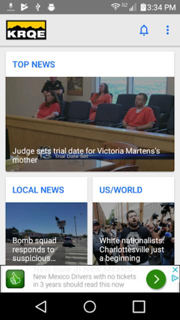 KRQE News - Albuquerque, NM screenshot 1
