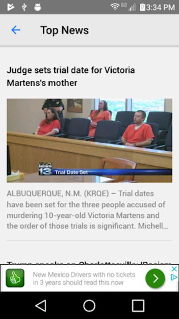 KRQE News - Albuquerque, NM screenshot 2