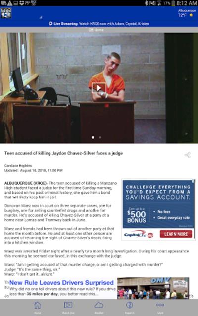 KRQE News - Albuquerque, NM screenshot 8