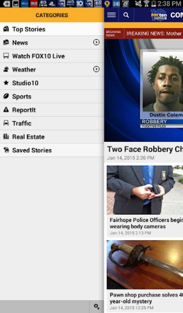 FOX10 News Mobile Alabama WALA screenshot 9