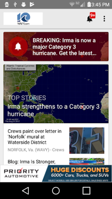 WAVY TV 10 - Norfolk, VA News screenshot 1