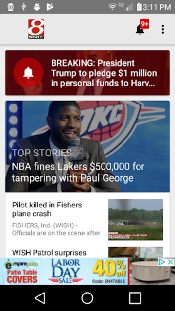 WISH-TV - Indianapolis News screenshot 1
