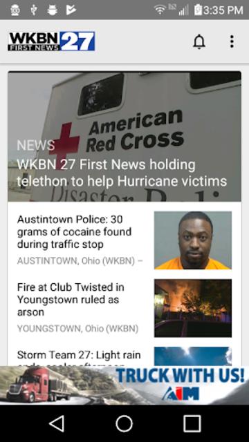 WKBN 27 First News screenshot 1