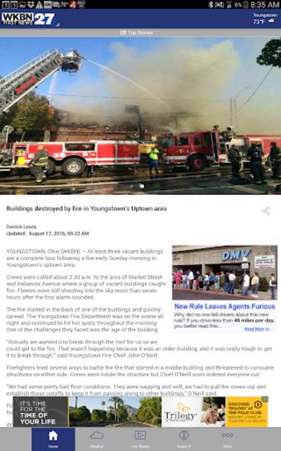 WKBN 27 First News screenshot 7