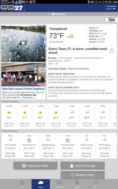 WKBN 27 First News screenshot 8