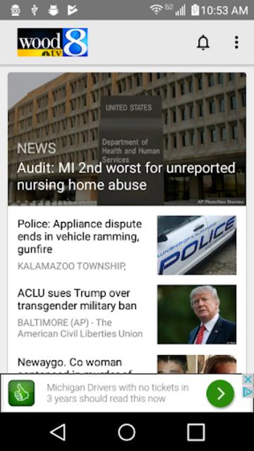 WOOD TV8 - Grand Rapids News screenshot 1