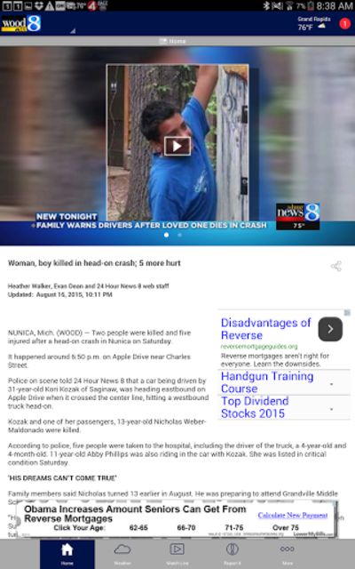 WOOD TV8 - Grand Rapids News screenshot 7