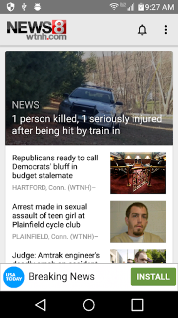 WTNH News 8 screenshot 1