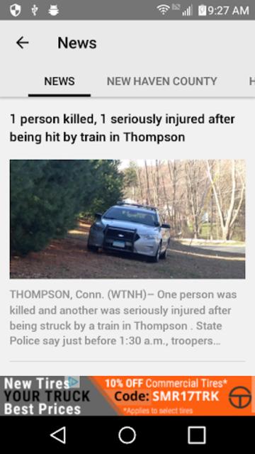 WTNH News 8 screenshot 2