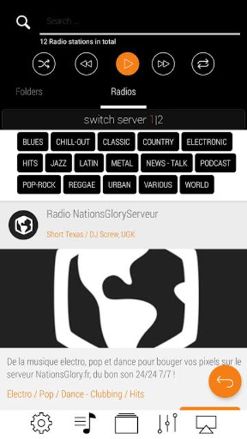 LiquidPlayer Pro  - music,equalizer,mp3,radio,3D screenshot 4