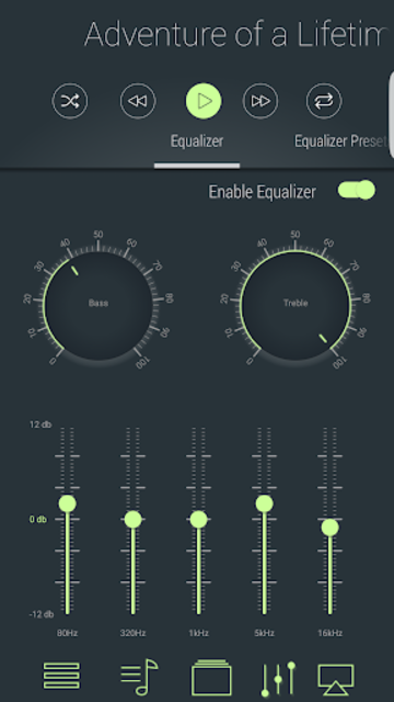 LiquidPlayer Pro  - music,equalizer,mp3,radio,3D screenshot 2