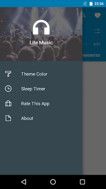 Lite Music screenshot 2