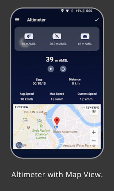 Altimeter : Measure Altitude & Elevation screenshot 1