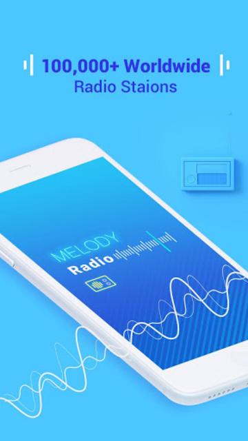 Melody Radio - Live radio, Music & Free FM screenshot 1