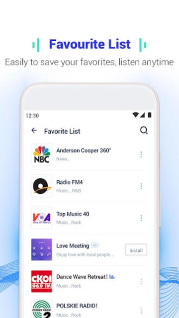 Melody Radio - Live radio, Music & Free FM screenshot 4