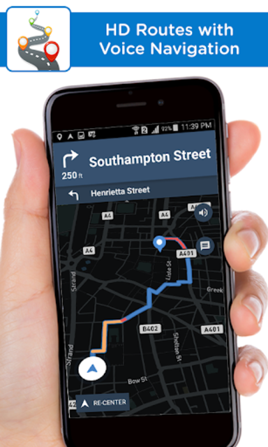 Live Voice Navigation - Driving Directions screenshot 4