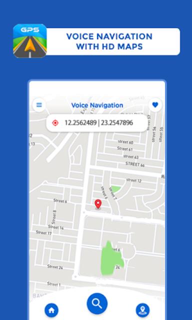 GPS, Maps Driving Directions, GPS Navigation screenshot 4