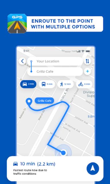 GPS, Maps Driving Directions, GPS Navigation screenshot 8