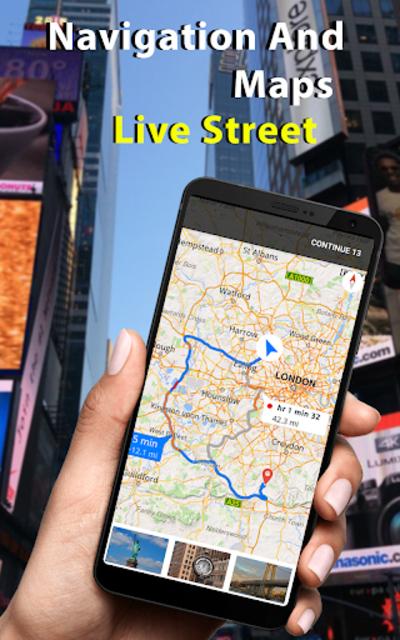 Live Street View - Earth Map Navigation screenshot 1