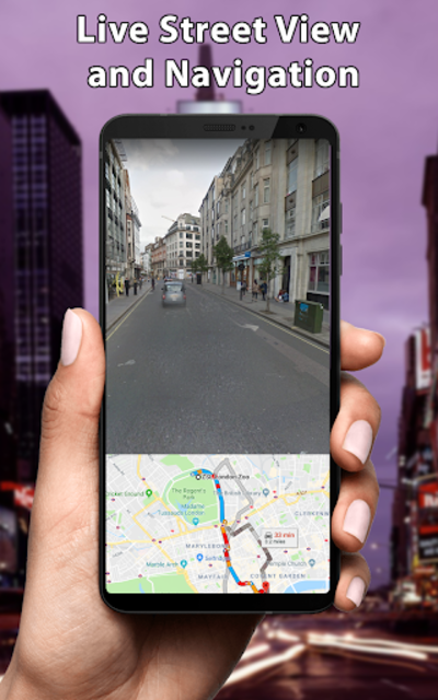 Live Street View - Earth Map Navigation screenshot 3