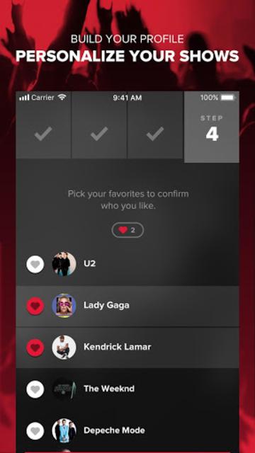 Live Nation At The Concert screenshot 2