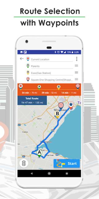 GPS Navigation, Live Traffic, HD Maps - Live Roads screenshot 2