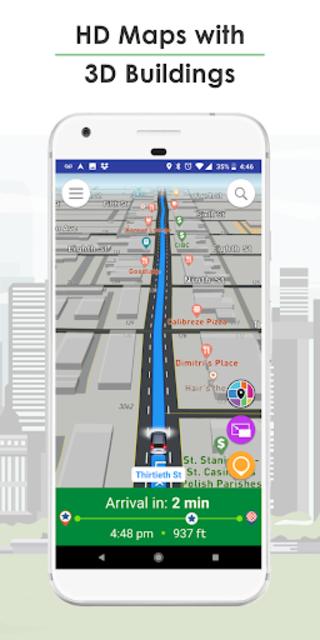 GPS Navigation, Live Traffic, HD Maps - Live Roads screenshot 3