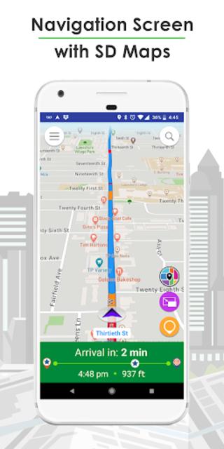 GPS Navigation, Live Traffic, HD Maps - Live Roads screenshot 5