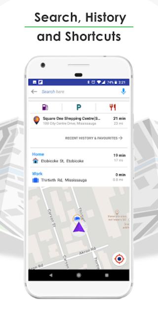 GPS Navigation, Live Traffic, HD Maps - Live Roads screenshot 7
