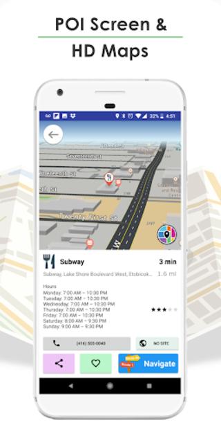 GPS Navigation, Live Traffic, HD Maps - Live Roads screenshot 8