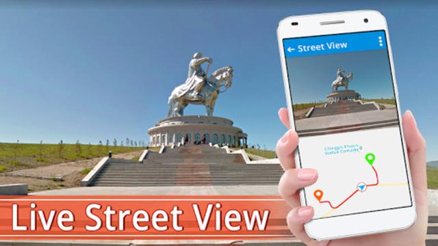 Street view HD live: 360 Satellite Map Navigation screenshot 1