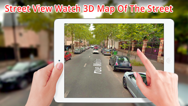 Street view HD live: 360 Satellite Map Navigation screenshot 3