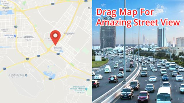 Street view HD live: 360 Satellite Map Navigation screenshot 5