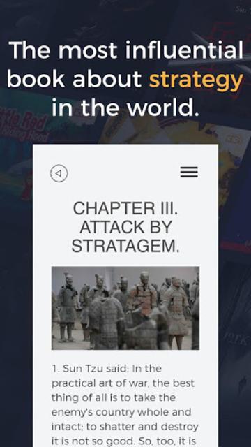 The Art of war - Strategy Book by general Sun Tzu screenshot 2