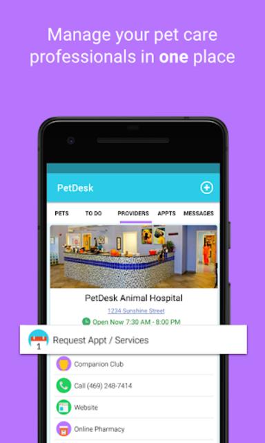 PetDesk - Pet Health Reminders screenshot 3
