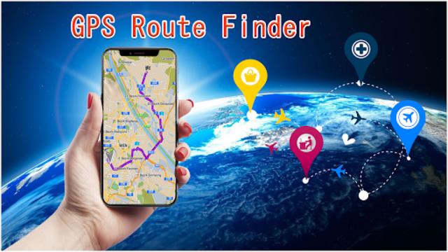 Maps, GPS, Navigation & Driving Route Directions screenshot 5