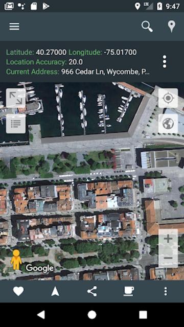 My Location: GPS Maps, Share & Save Locations screenshot 16
