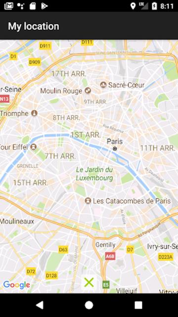 My Location: GPS Maps, Share & Save Locations screenshot 20