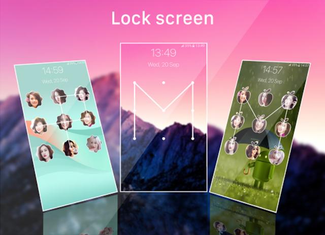 pattern lock screen screenshot 4