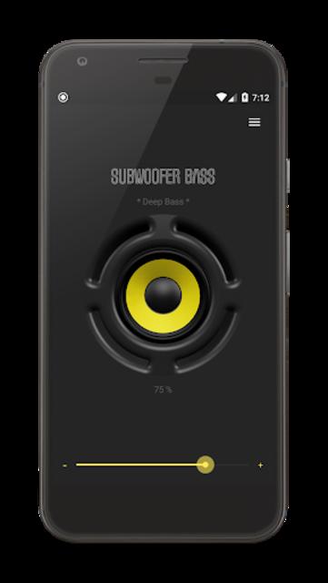 Subwoofer Bass PRO screenshot 1