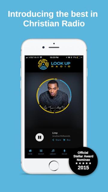 Look Up Radio screenshot 1