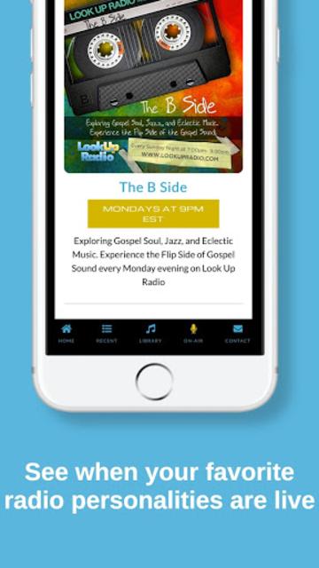 Look Up Radio screenshot 3