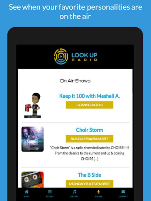 Look Up Radio screenshot 9