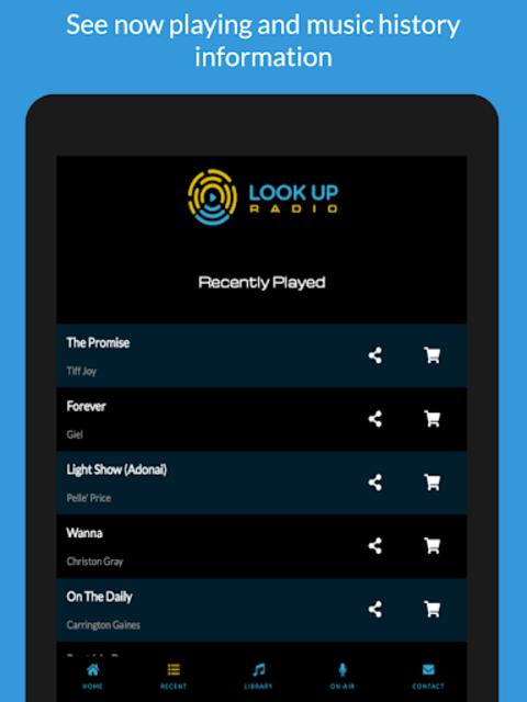 Look Up Radio screenshot 10
