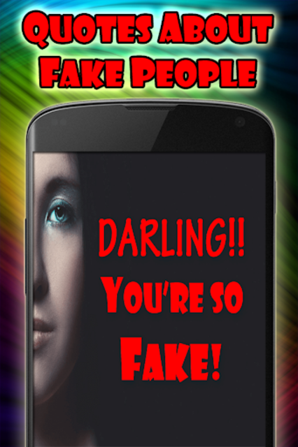 Quotes about fake people screenshot 2