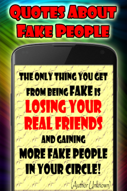 Quotes about fake people screenshot 3